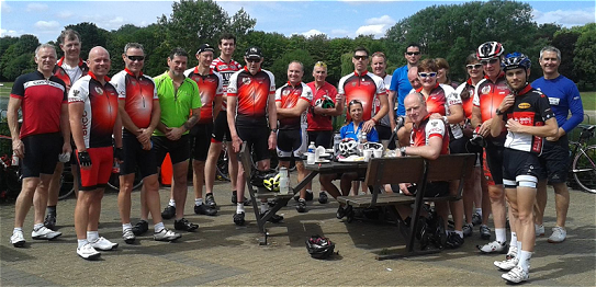 Beds Road Cycling Club Club Run