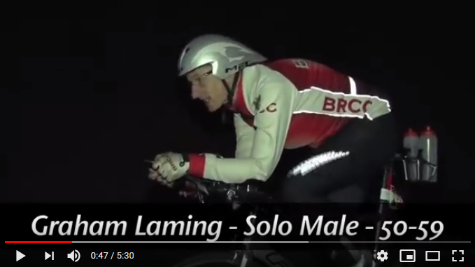 Graham Laming Cycling in the 24 hour WTTC event in Borrego Springs