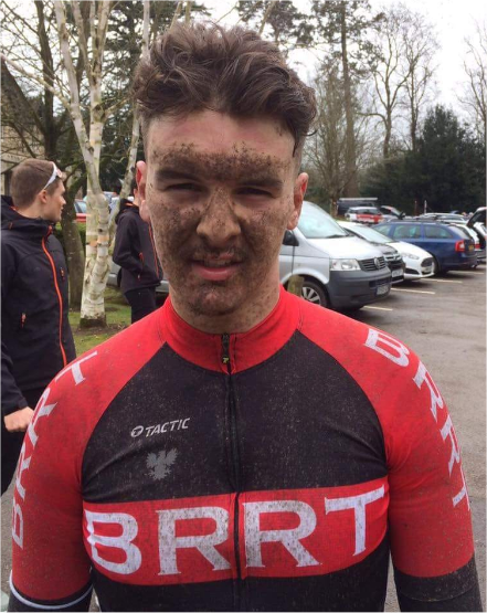 Ollie Bates is one of Beds Road Racing Team's top racing cyclists